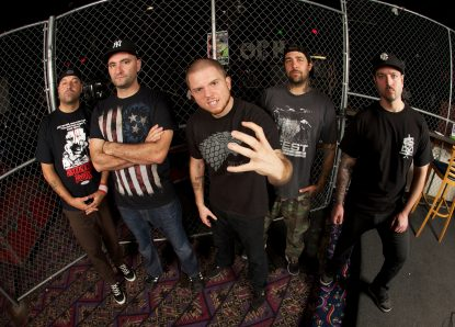 Auf Tour: Hatebreed & Walls of Jericho