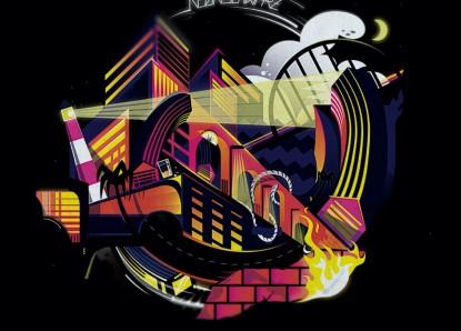 Neonschwarz – Metropolis