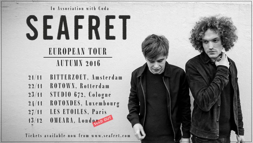 seafret tour poster