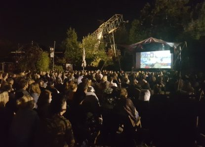 Open Air Kino im Odonien (Köln)