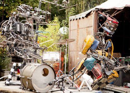 Robodonien, 10. Kölner Roboter-Kunst-Festival, 14.-16.09.2018